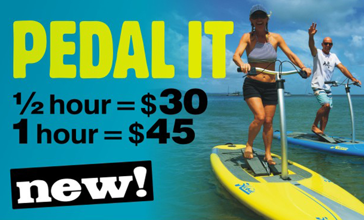 1770 Peddle Hire - your workout on the water